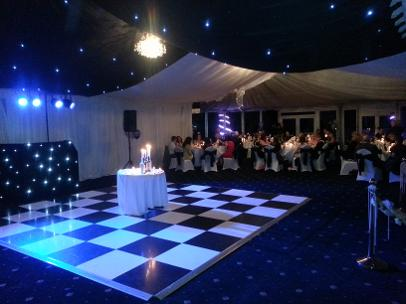 garden party tent hire in london